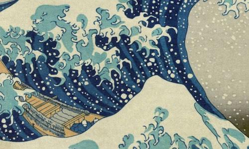 La Gran Ola del Bonsái Kanagawa